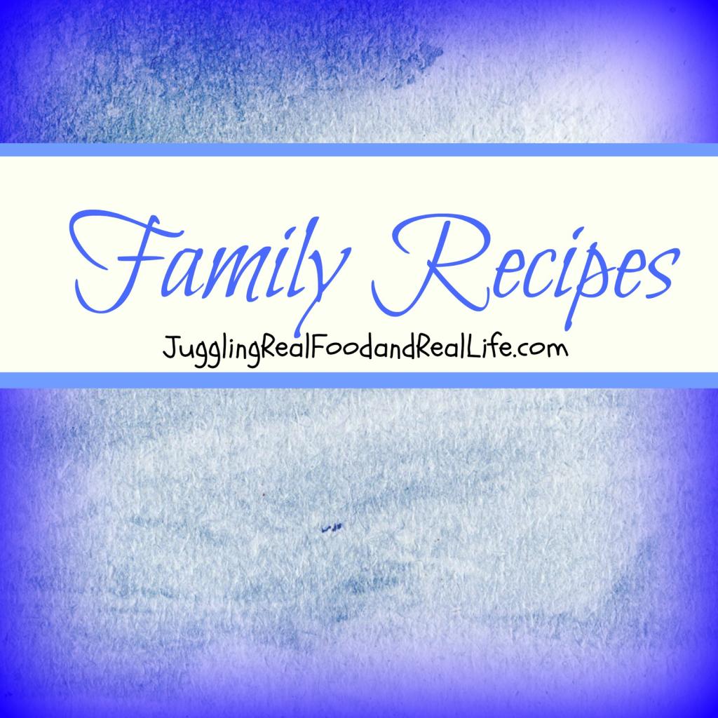 Real Food Family Recipes