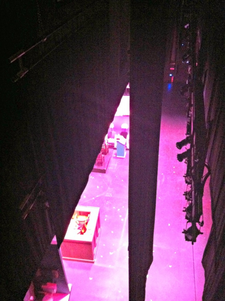 Legally Blonde Stage from Above