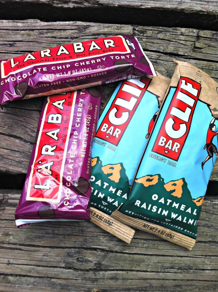 Clif and Lara Bars