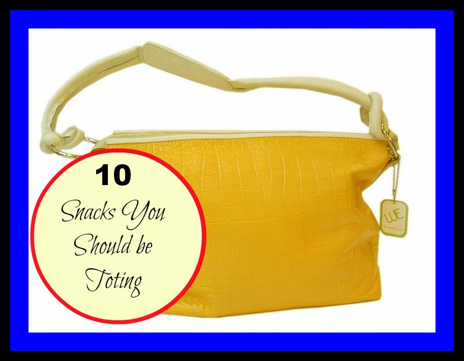 10 Snacks Perfect For Toting