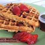 Strawberry Whole Wheat Waffle Recipe