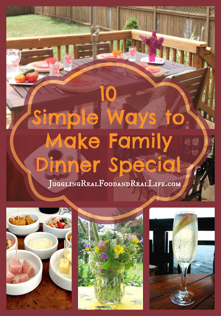 10 Ways to Make Family Dinner Special