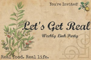 Let's Get Real Linky Party