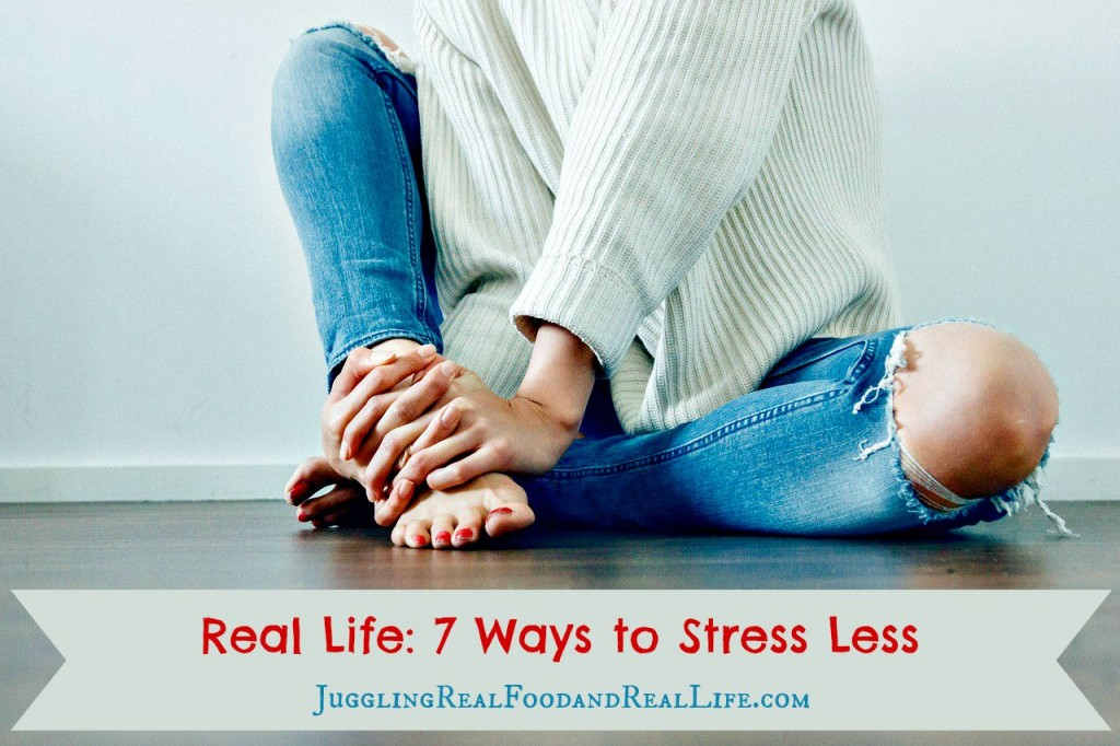 7 Ways to stress less and Enjoy Life More