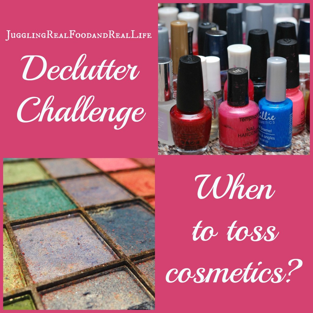 When to Toss Cosmetics