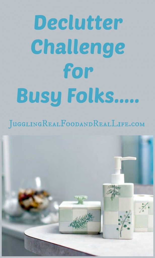 Declutter Challenge for Busy Folks