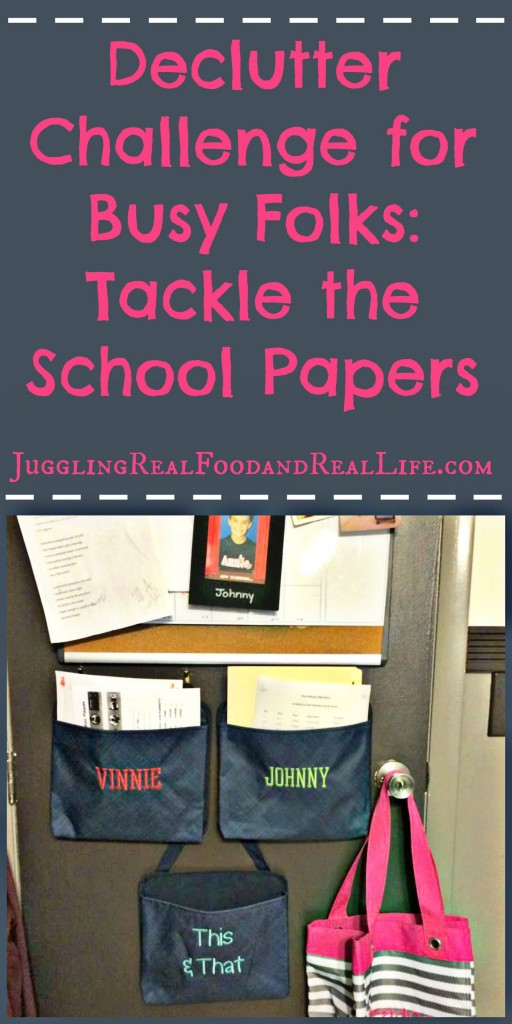 Organize school papers