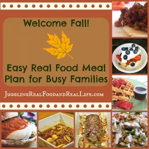 Fall Meal Plan