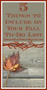 5 Fall Things To Do