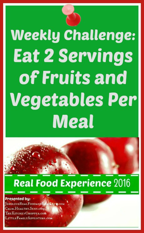 Eat 2 Fruits and Vegetables Per Meal