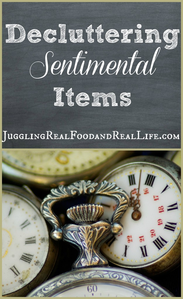 Decluttering-Sentimental-Items