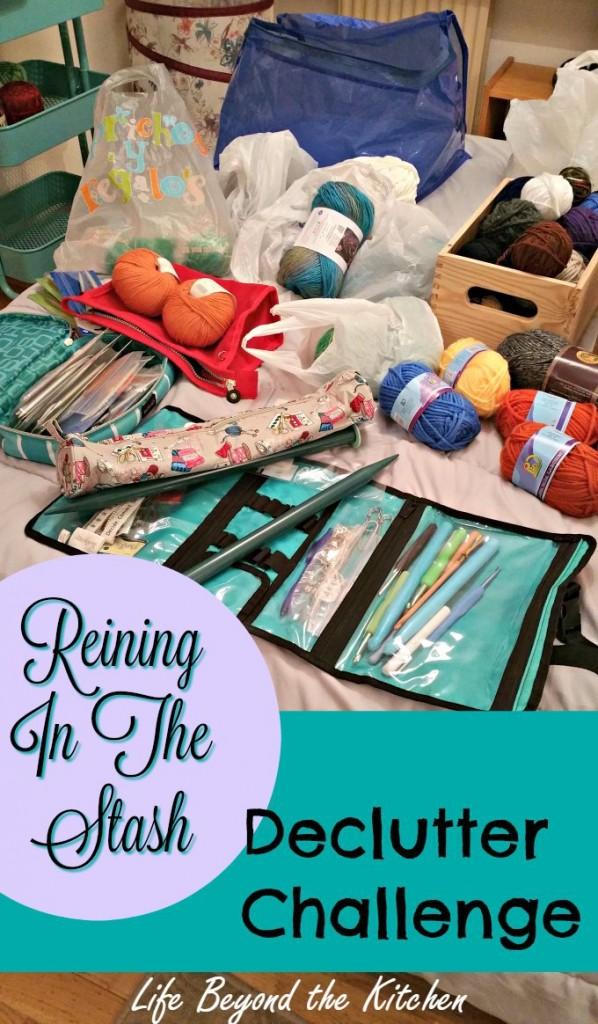 Decluttering Craft Supplies