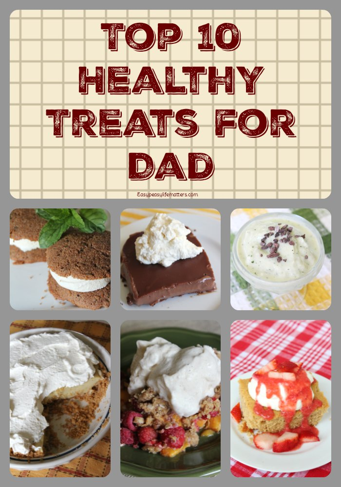 Healthy Treats for Dad