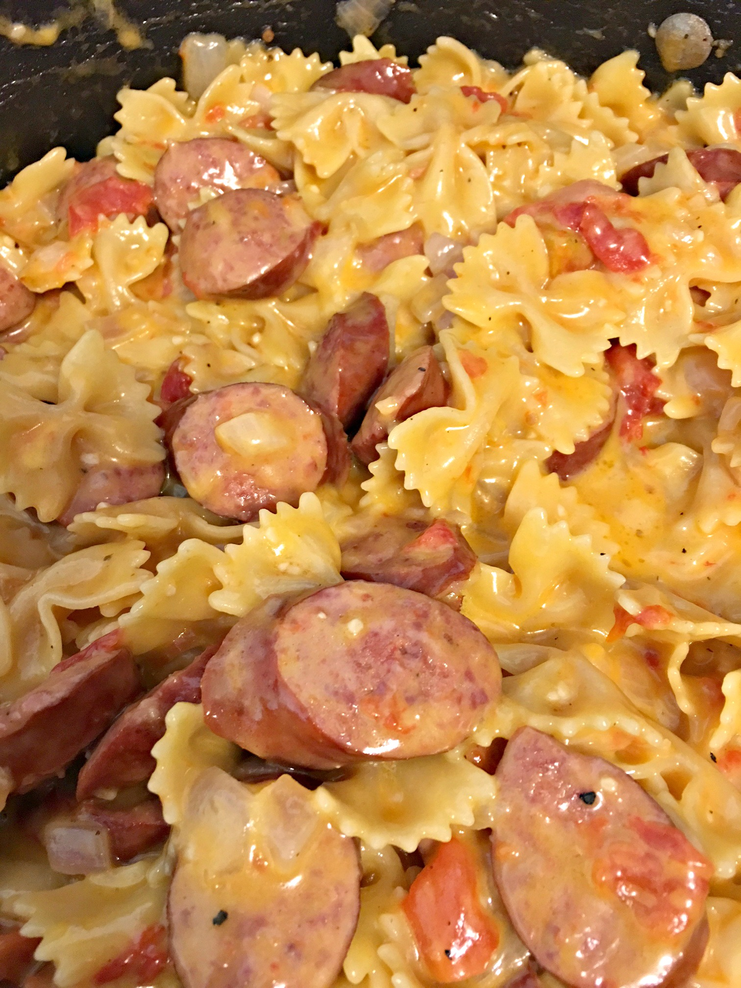 Easy Recipe One Pot Smoked Sausage Pasta Juggling Real Food And Real Life