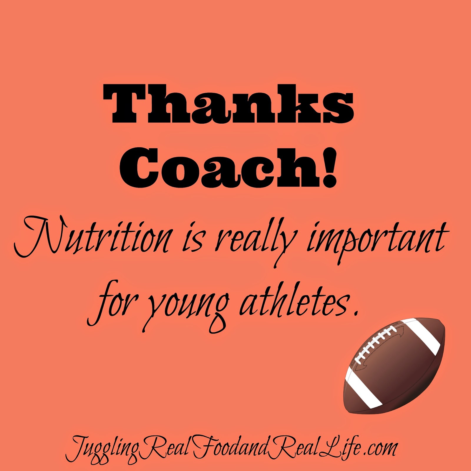 We Finally Have A Coach Who Cares About Nutrition!
