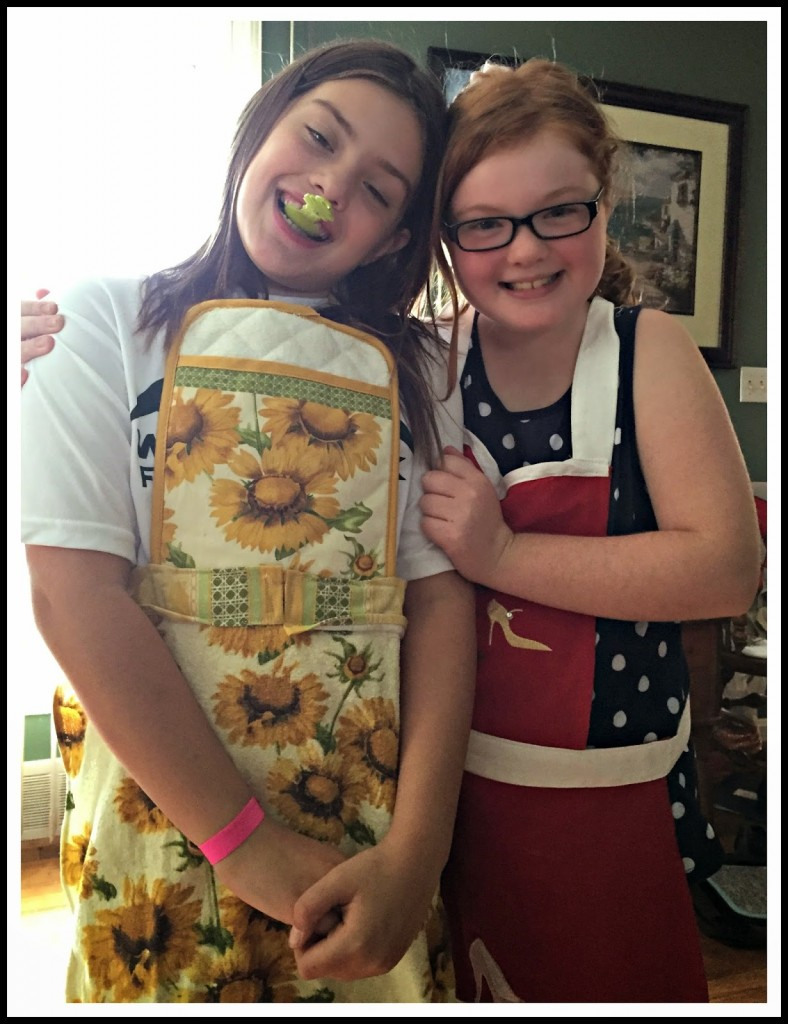 Girls cooking day