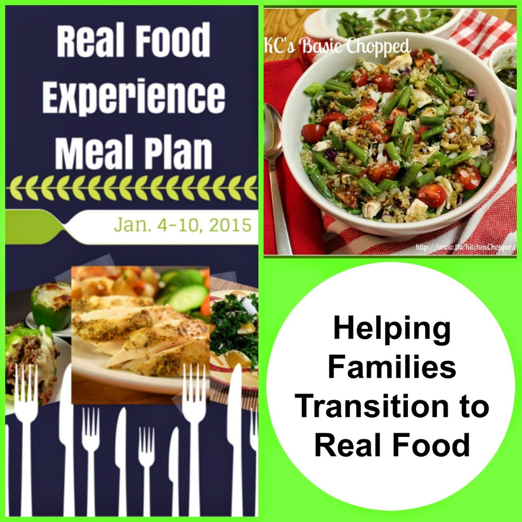 Helping Families Transition to Real Food