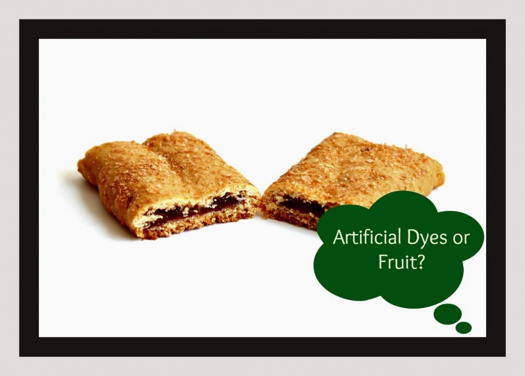 Artificial Dyes or Fruit