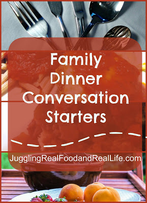 Family Dinner Conversation Starters: Sports and Activities
