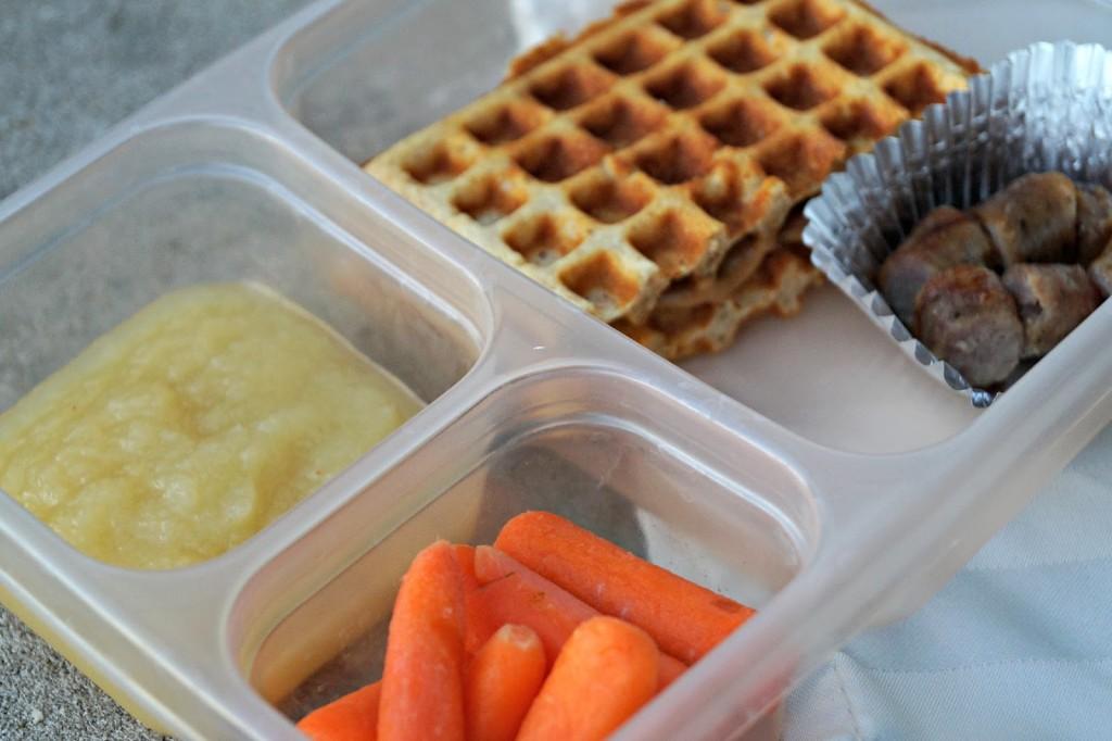 peanut butter waffle sandwich