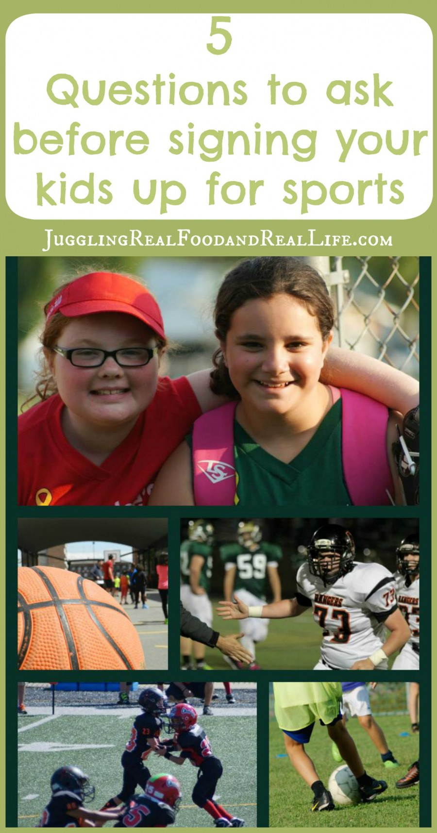 Youth Sports: 5 Questions to Ask Before Signing Your Kids Up for Sports