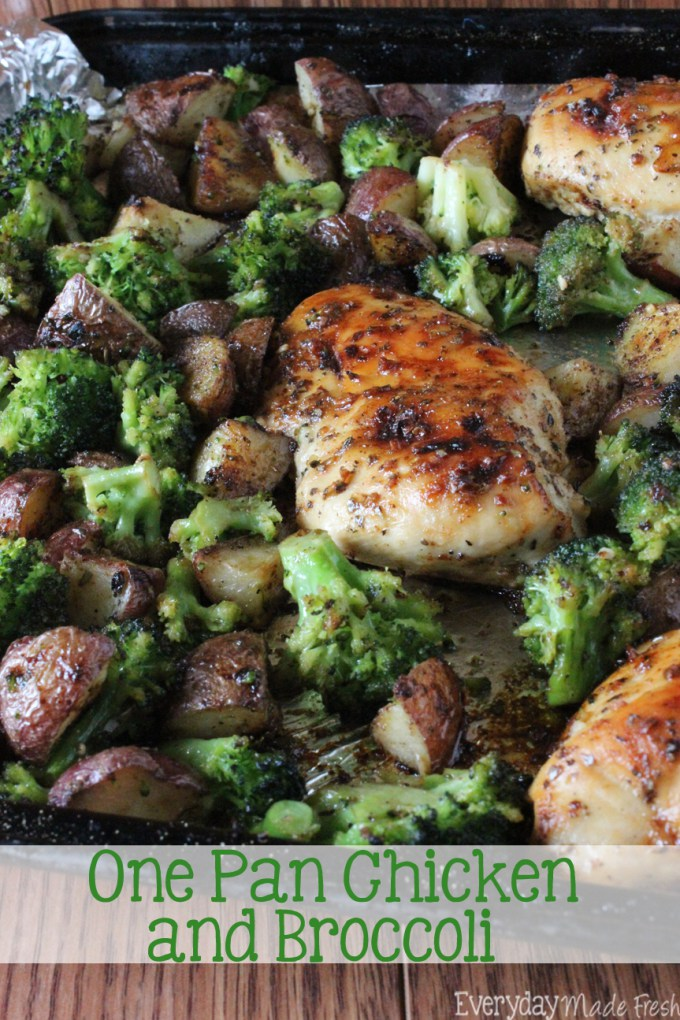 One-Pan-Chicken-and-Broccoli