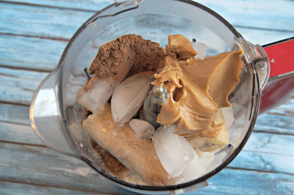 Banana, Chocolate. Peanut Butter