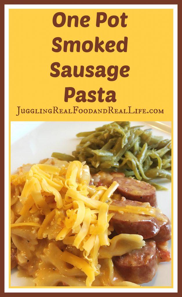 Smoked-Sausage-Pasta-Recipe