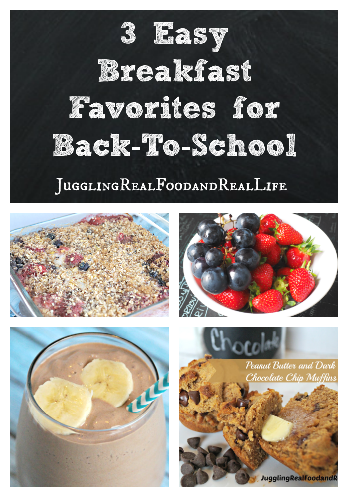 3 Easy Breakfast Recipes for Back-to-school