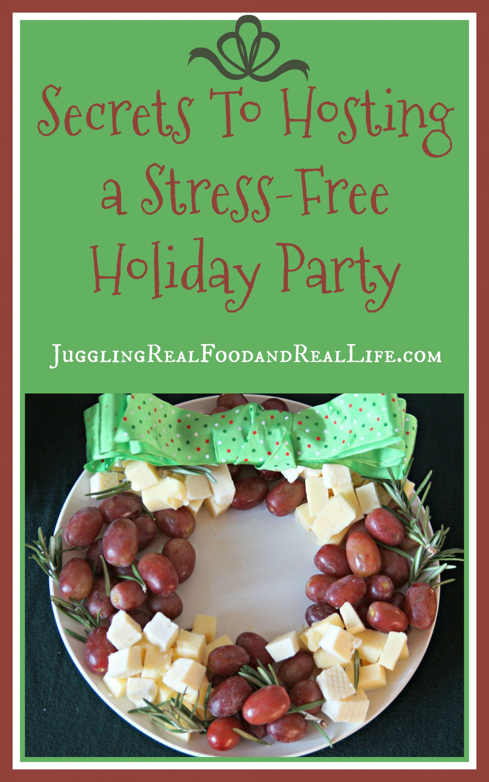 Secrets To Hosting A Stress-Free Holiday Party