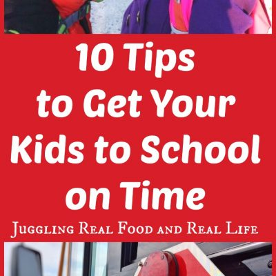 10 Tips to Get Your Kids to School on Time