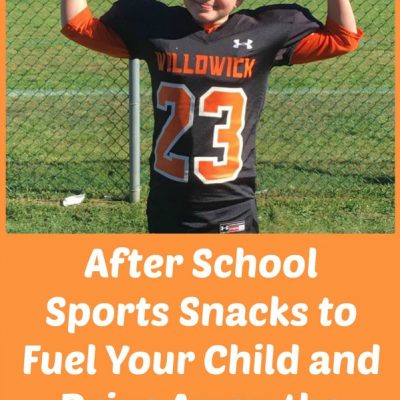 """After School Sports Snacks to Fuel Your Child and Drive Away the """"Hangry"""""""
