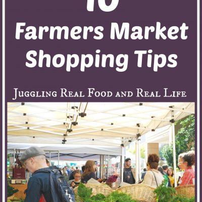 10 Farmers Market Shopping Tips