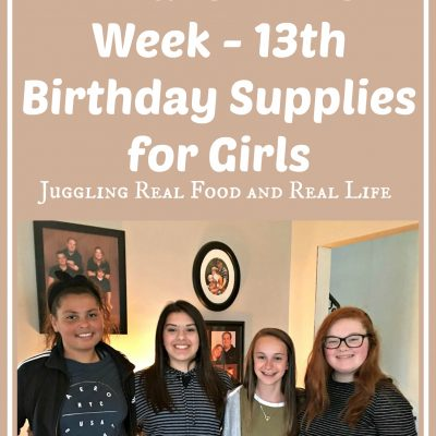 What I Bought On Amazon This Week – 13th Birthday Supplies for Girls