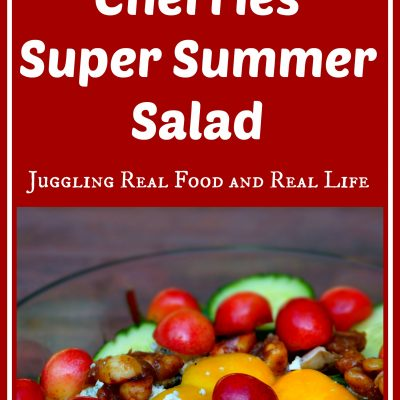 Skylar Rae Cherries Super Summer Salad