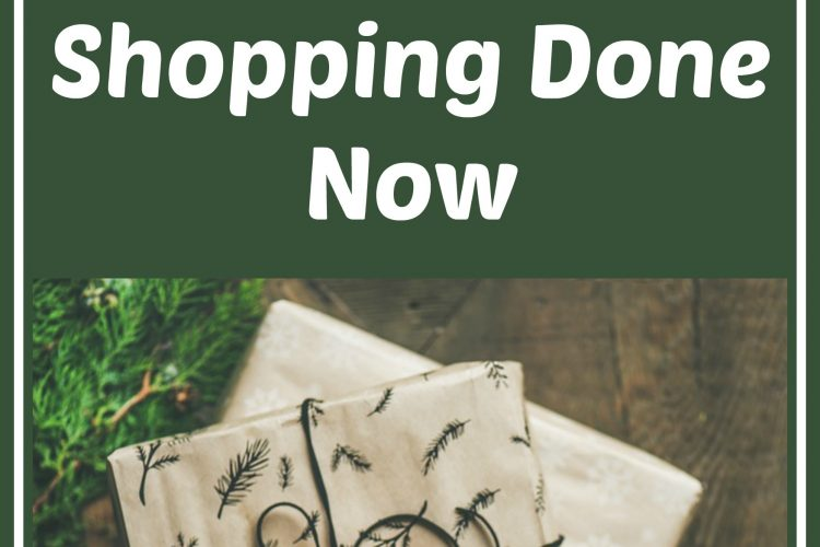 10 Tips For Getting Christmas Shopping Done Now