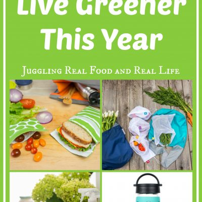 Top 5 Ways to Live Greener This Year